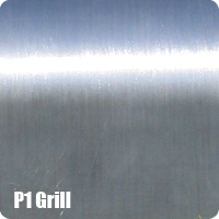 Aluminium grill for parks and porches